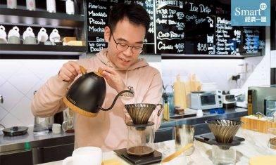 半山大狀入行後看盡人性醜惡 轉行走去沖咖啡 一切由奶茶說起
