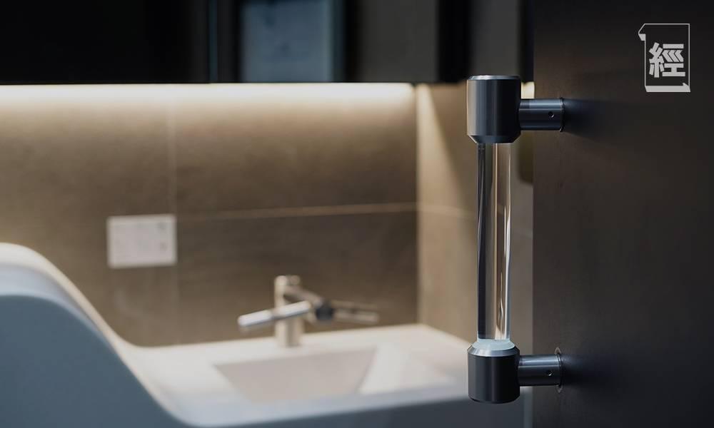 鈦研科技 紫外光自潔門柄預防傳播