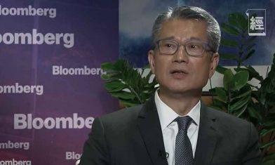 陳茂波稱不排除開徵銷售稅 疫情過後經濟會有強勁反彈