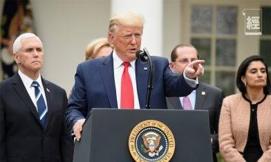 特朗普籲消毒並重用口罩 疑違反美國藥物管理局指引|武漢肺炎
