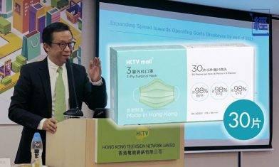 HKTVmall口罩公布首輪抽籤結果 3,000個幸運兒下週一起可購買口罩