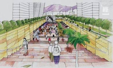 港版明洞地下街?政府擬建啟德地下購物街 全長1,500米等於5條栢麗大道