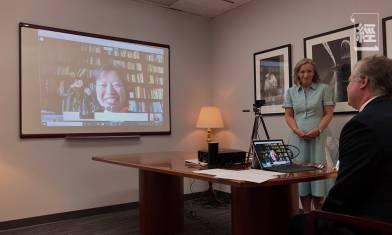 蓬佩奧與「天安門母親」成員視像會面 美國務院頒發「國際勇敢婦女獎」:要求中國公開六四死亡數字