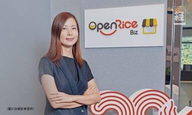 黃鳳鳴07年加入OpenRice 將品牌重新包裝 現會員數目近400萬名 未來將推預購套餐