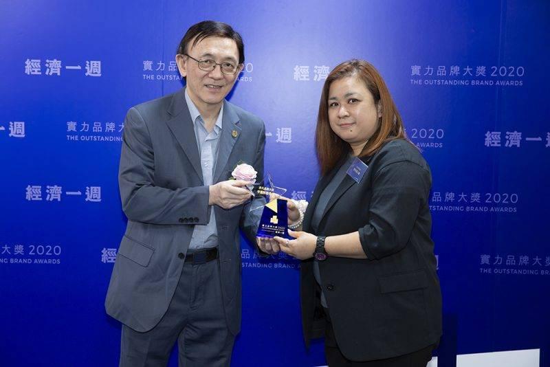 實力品牌大奬2020 中國移動香港