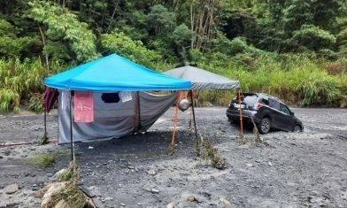 南投河床露營突遇水庫洩水 兩家庭3死1失蹤