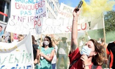 【新冠肺炎】疫情令政府組閣難產 比利時醫護陷困境迫上街爭訴求