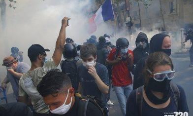 【新冠肺炎】法國單日新增首破1萬 黃背心重返街頭與警爆衝突