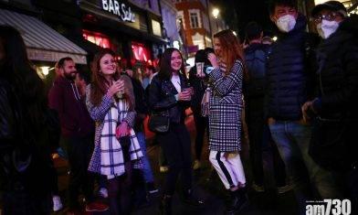 【新冠肺炎】英酒吧10時打烊成效有限  蘇格蘭警方破獲300場家庭派對