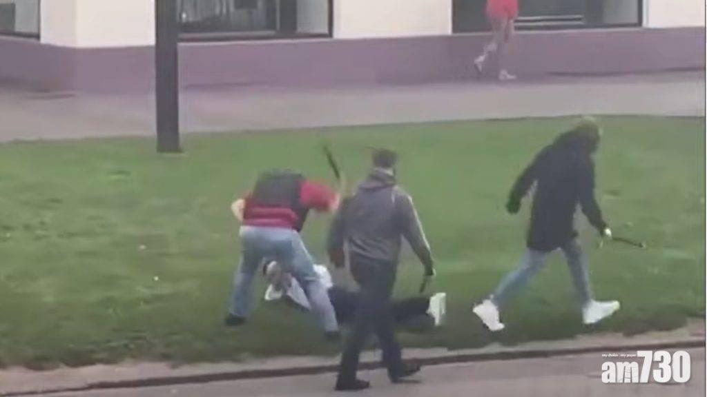 白俄示威百人被捕  有蒙面人襲擊及帶走示威者