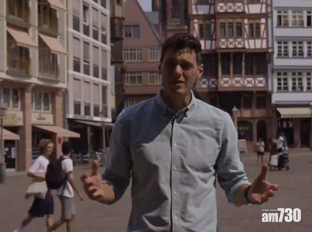 【Matrix惡作劇】街頭報道後面兩少年倒後行 BBC記者成段片報廢(有片)