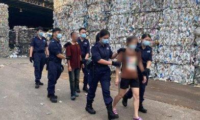 【曙光行動】入境處反黑工拘22人