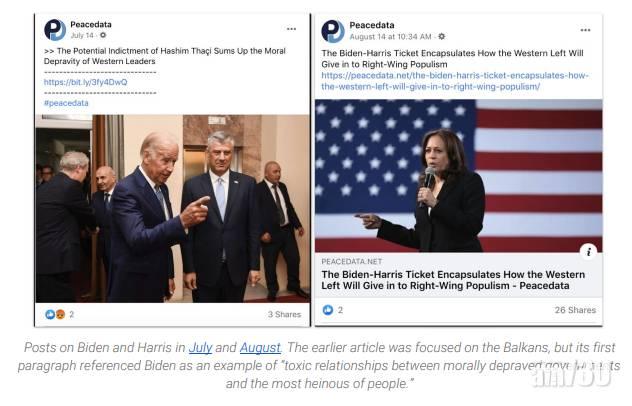 【美國大選】FB:俄網軍扮獨立媒體  目標左翼選民破壞拜登選情