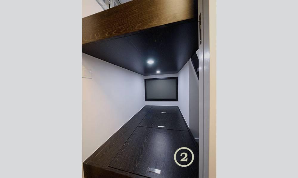 【裝修設計】改裝300呎公屋變4房1廳 活用「雙趟門」拆牆加大廁所面積 分隔淋浴空間、坐廁