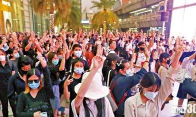 泰示威  國會下周召開特別會議
