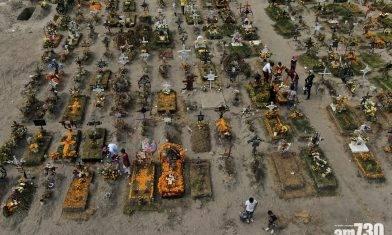 【新冠肺炎】墨西哥亡靈節關閉公墓  民眾提早致意