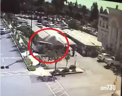 【死神來了】SUV車撞進露天食肆1死7傷