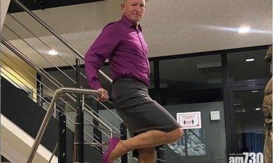 【衣著無分性別】直男父親4年來穿裙腳踏高踭鞋上班