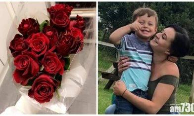 【浪漫小暖男】英4歲仔做家務賺零用錢買紅玫瑰向母表愛意