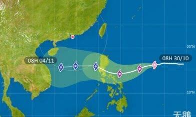 【又打風?】天鵝料下周二進港800公里範圍