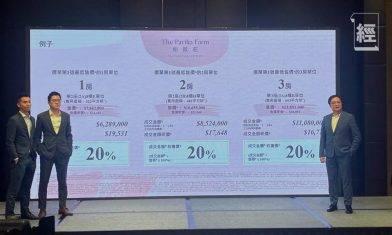 【大圍柏傲莊I價單】呎價最平1.67萬元 兩房折實852萬起、一房628萬起 附示範單位相