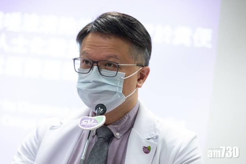 【新冠肺炎】許樹昌:倘疫情續升   大型室內活動應全停