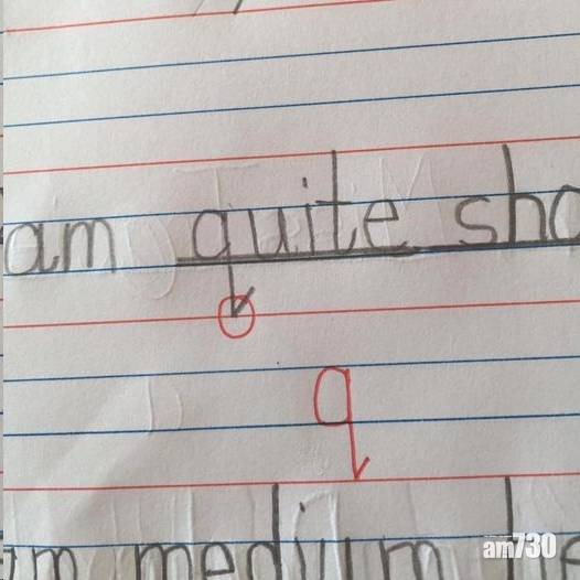 【網上熱話】小學功課錯乜「q」 網民找不同:錯咗啲咩