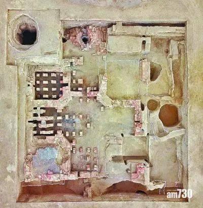新疆絲路古城發現羅馬式浴場遺址