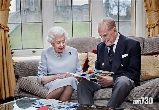 英女王菲臘親王結婚73周年 英國王室分享溫馨合照
