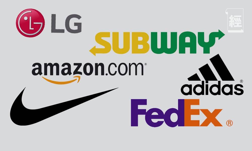 拆解7大品牌Logo秘密 Amazon不止微笑咁簡單 Nike與剔號全無關係 三角朱古力竟內藏熊人?