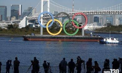 【東京奧運】經4個月維修塗漆 鋼製五環標誌重返台場再成打卡熱點