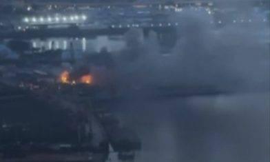 九龍城地盤貨櫃屋清晨發生火警