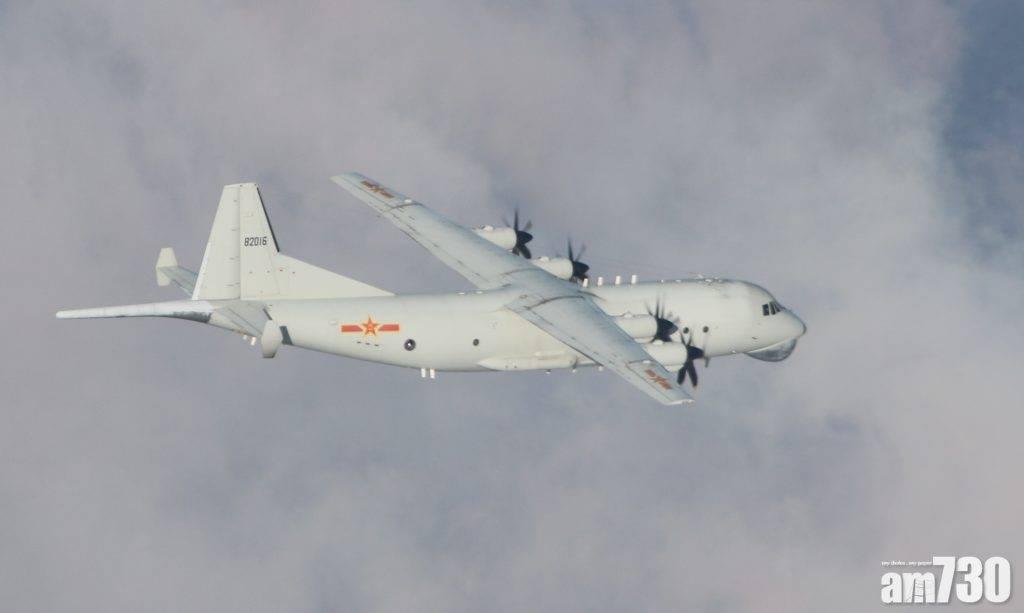 台海局勢 解放軍15戰機擾台 今年最多
