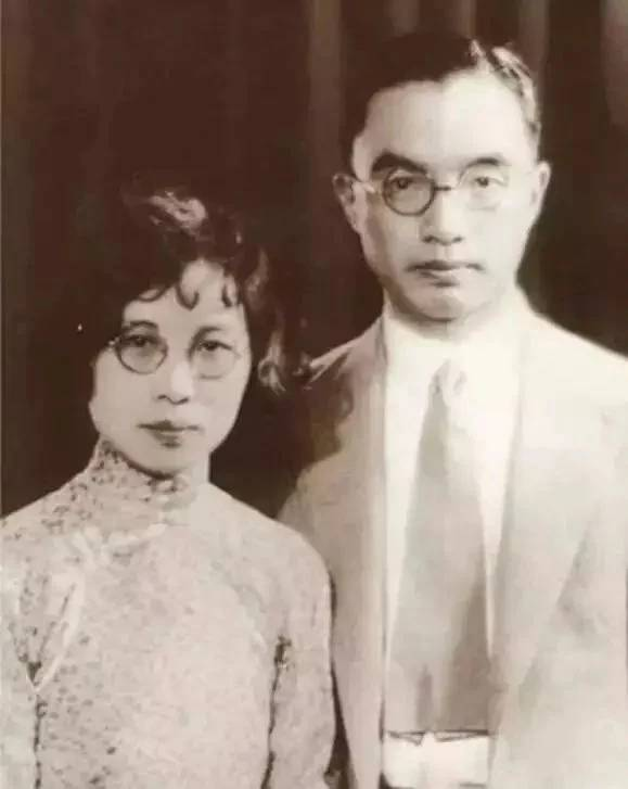 朱自清與妻子武仲謙。(圖片來源:百度圖片)