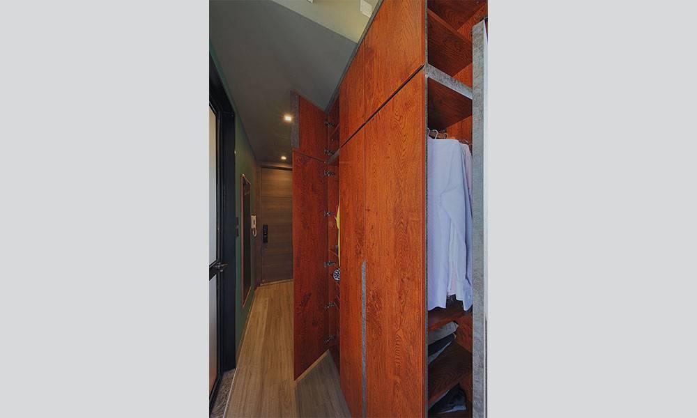 裝修設計|港男購205呎納米單位成業主 設計師度身訂造傢私 用盡每一吋空間