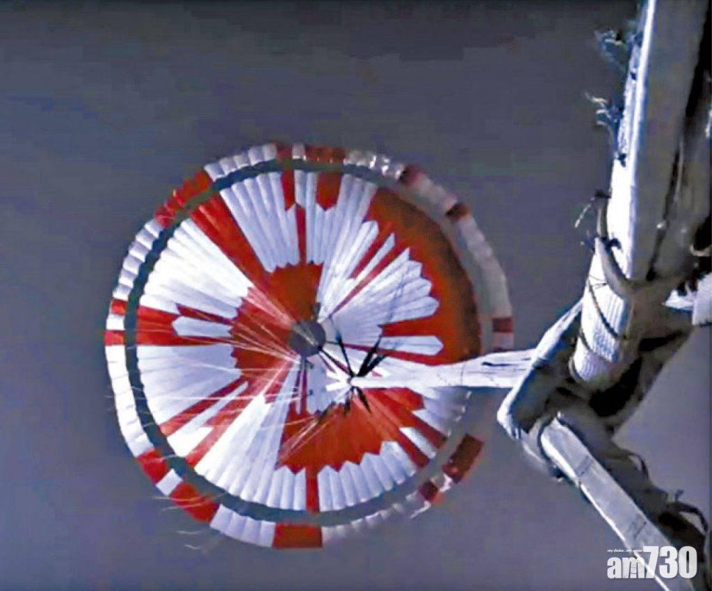 任務開始 傳回「恐怖7分鐘」影像 毅力號首錄火星聲音