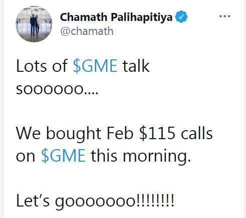 GME事件參與投資者Chamath Palihapitiya傳奇一生:出身清貧、形容巴菲特過時、「1%」比特幣策略、合併維珍銀河股價爆升