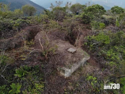 港大花十年考證確認日軍二戰在港建設大型槍堡群(有片)