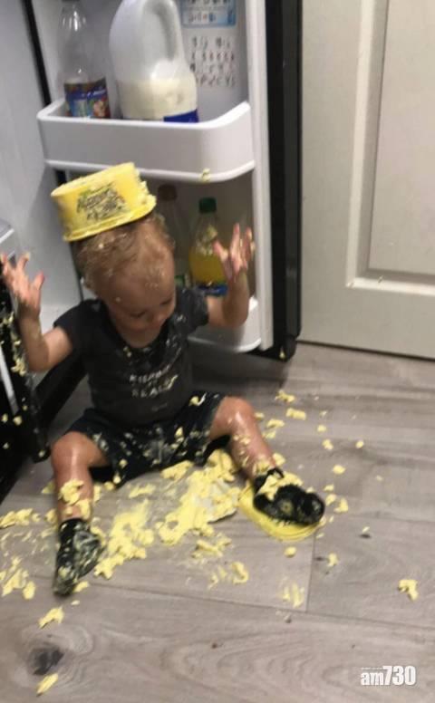 網上熱話|3歲「破壞王」打爆家中12部電視  母︰轉個背都死