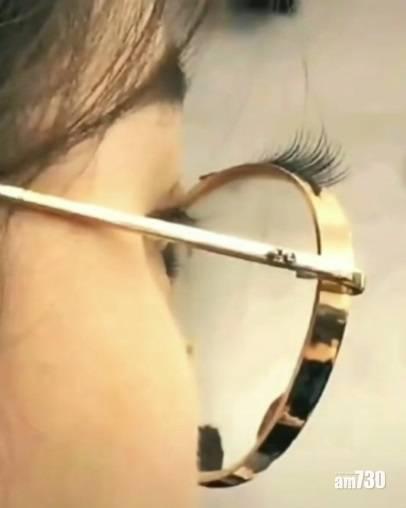 網上熱話|長睫毛黐眼鏡 網民︰女仔有一萬種扮靚方法