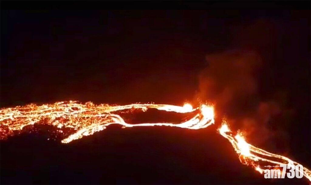 火山爆發|一場及時雨減緩冰島火山熔岩噴發
