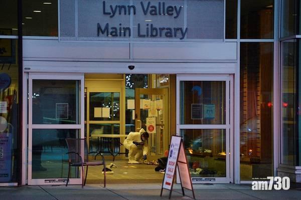 動機未明 溫哥華圖書館刀手亂刺途人1死6傷