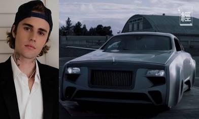 Justin Bieber私人訂製Rolls-Royce Wraith 改造Rolls-Royce車款全球唯一!