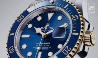 Rolex水鬼系列3年間定價升幅? Submariner系列中升幅最大達18.6%