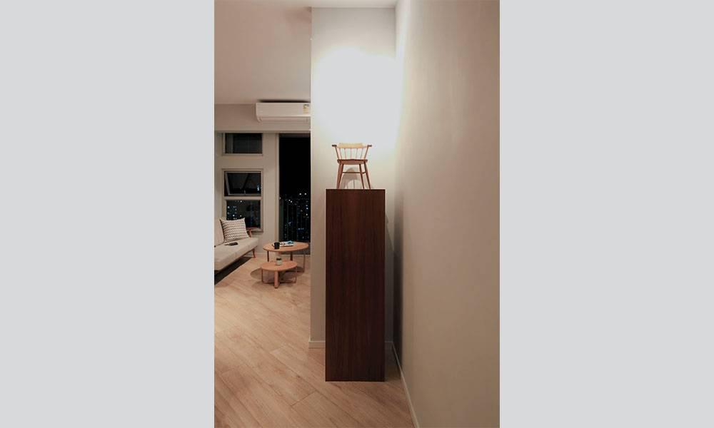 【裝修設計】沙田綠怡雅苑569呎單位 變身復古風水屋 木系顏色都有講究