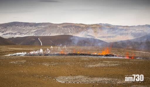 冰島火山爆發逾2周 新裂縫湧出岩漿