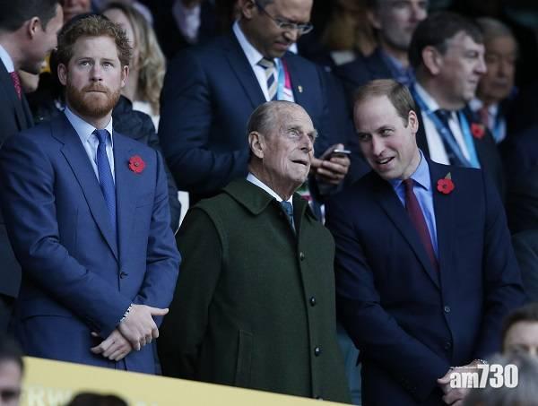 皇夫逝世|威廉亨利兄弟分發悼文 喬治王子與曾祖父溫馨照曝光