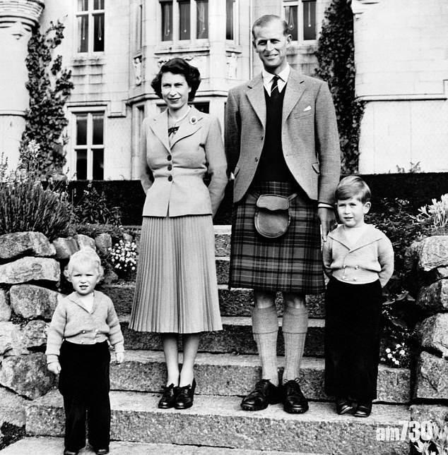 皇夫逝世 感激伴隨人生分秒 查理斯發珍貴照片向亡父致意 (有片)