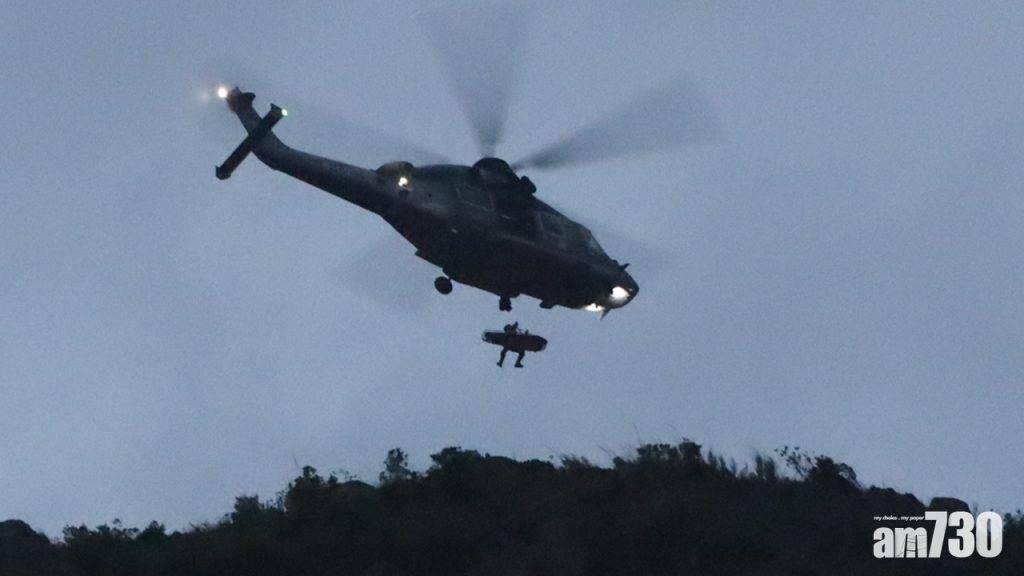 警員下午登飛鵝山續調查石樂蕎案