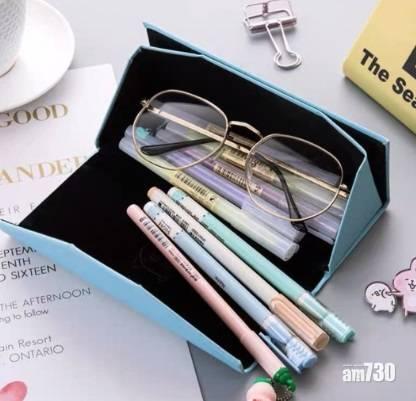網上熱話 眼鏡盒一物多用    網民︰可自選字句更好